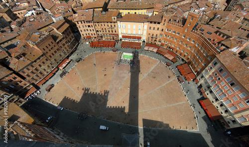 Fotografía Italien, Toskana, Siena, Piazza del Campo