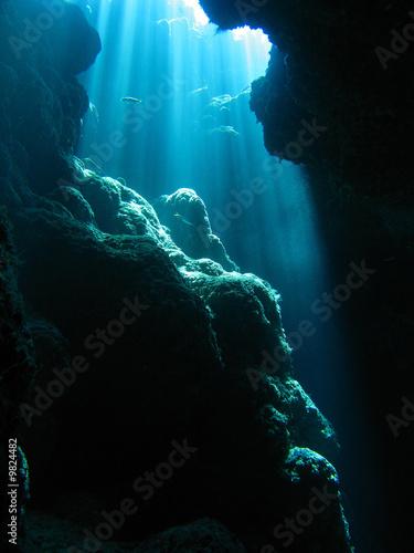 Stampa su Tela 洞窟