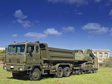 Military Heavy Truck And Mecha...
