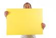 canvas print picture - notiz wichtig mitteilung