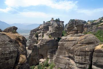 Fototapeta na wymiar monastery in Meteora