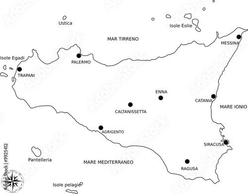 Cartina Sicilia Enna.Cartina Sicilia Buy This Stock Vector And Explore Similar Vectors At Adobe Stock Adobe Stock