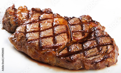 Deurstickers Steakhouse juicy steak