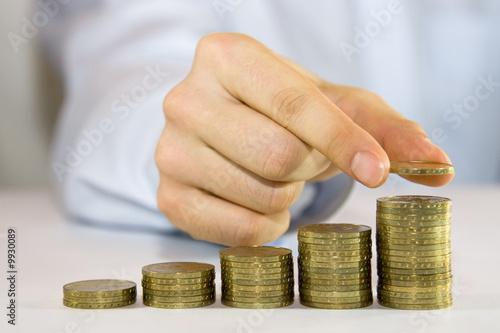 Fotografía  Rising Coins