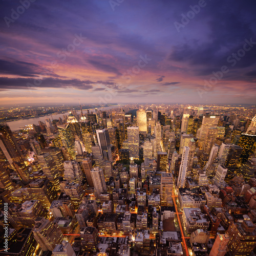 Foto-Rollo - big apple at sunset (von dell)