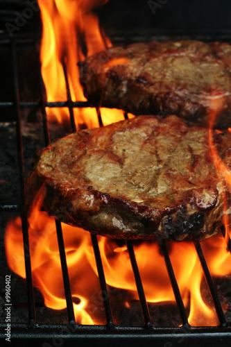 Papiers peints Steakhouse Barbeque Steaks