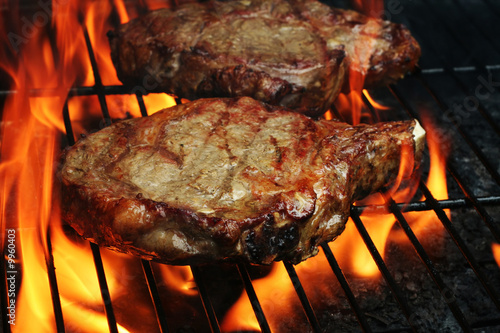 Foto op Canvas Steakhouse Grilled Steaks