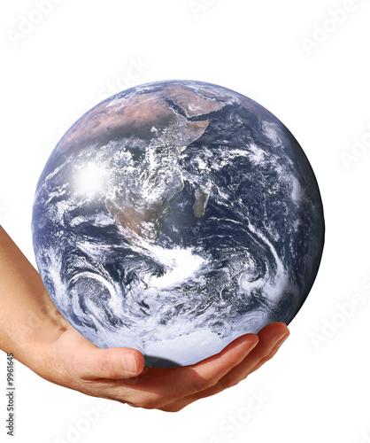 Deurstickers Droogte planete soutenue
