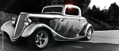 Photo Stands Vintage cars hotrod