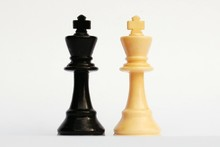 Black And White King Chess Pieces