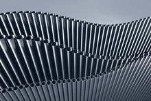 3d Abstract Illustration Of Pipes