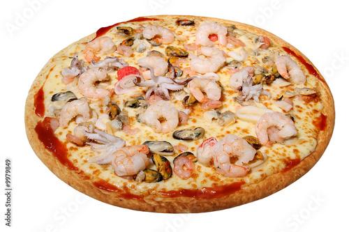 Fotografie, Obraz  Pizza