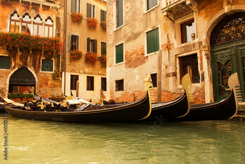Türaufkleber Gondeln Traditional Venice gondola ride