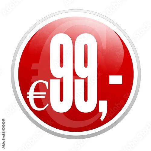 99 euro Poster