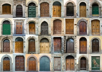 FototapetaCollection vintage obsolete elegant tuscany door