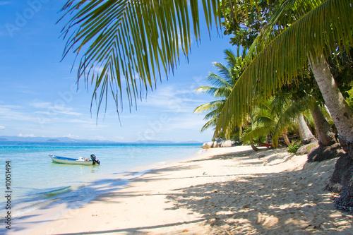 Foto-Leinwand - palm beach boat