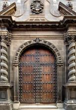 An Old Door In An Old Building