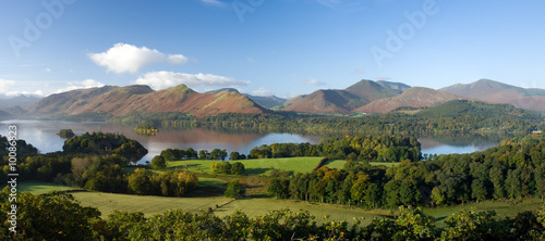 Canvas Print Derwent Water