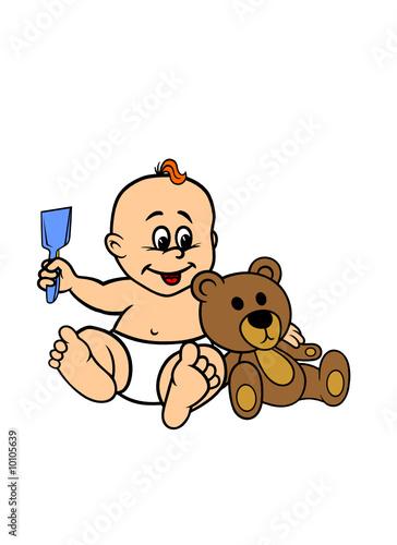 Poster Jeunes enfants Baby Vektorgrafik Vektor Aufkleber Babyaufkleber Sticker