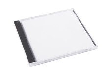 DVD Case Isolated On A White B...