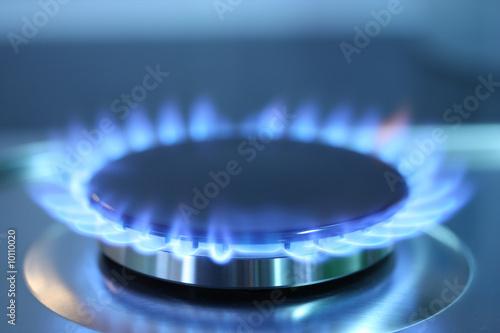 Fotografie, Obraz  Gas burner flame