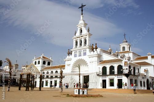 Ermita Virgen Rocío (Almonte) esperando traslado