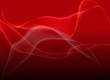 Abstrakter roter Nebel Hintergrund