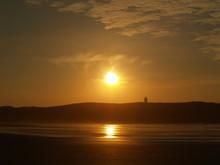 Puesta De Sol Playa Da Frouxeira