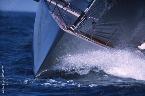 Garden Poster Sailing Schiffsbug