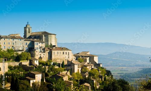 village de Gordes dans le Vaucluse en luberon (pacca)