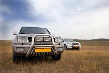 Land Cruiser In Steppe