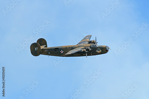 Leinwand Poster B-24 Loud And Low