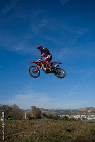 Cadres-photo bureau Motorise motocross