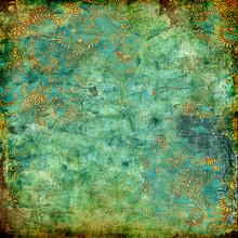 Green Rusty Vintage Texture