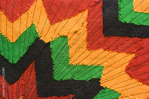 Photo  Ornate fabric with versatile image as background