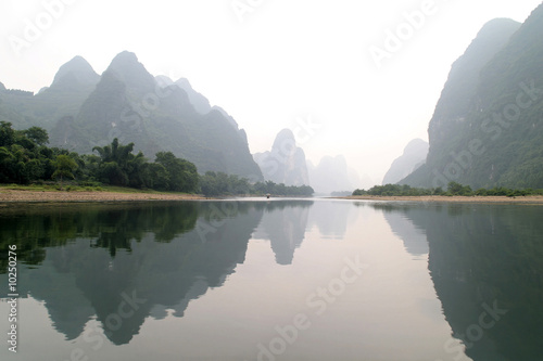 Foto op Canvas Guilin Guilin Zucker Berge