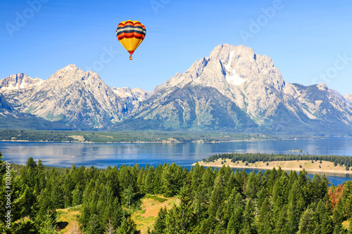 Stampa su Tela The Grand Teton National Park in Wyoming USA