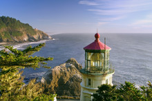 Historic Heceta Lighthouse On ...