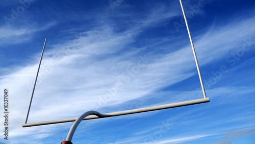 Fotografia, Obraz  American Football- field goalpost