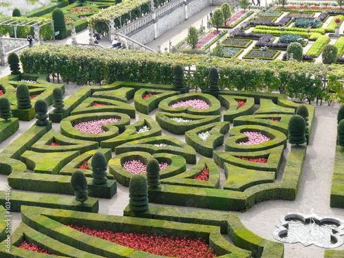 Photo Chateau de Villandry et jardins, France