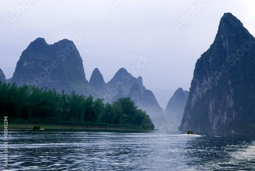 Li river near Yangshuo, Guanxi province, China