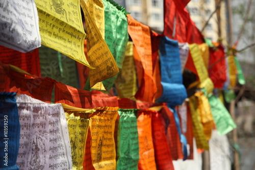 Cuadros en Lienzo prayer flag