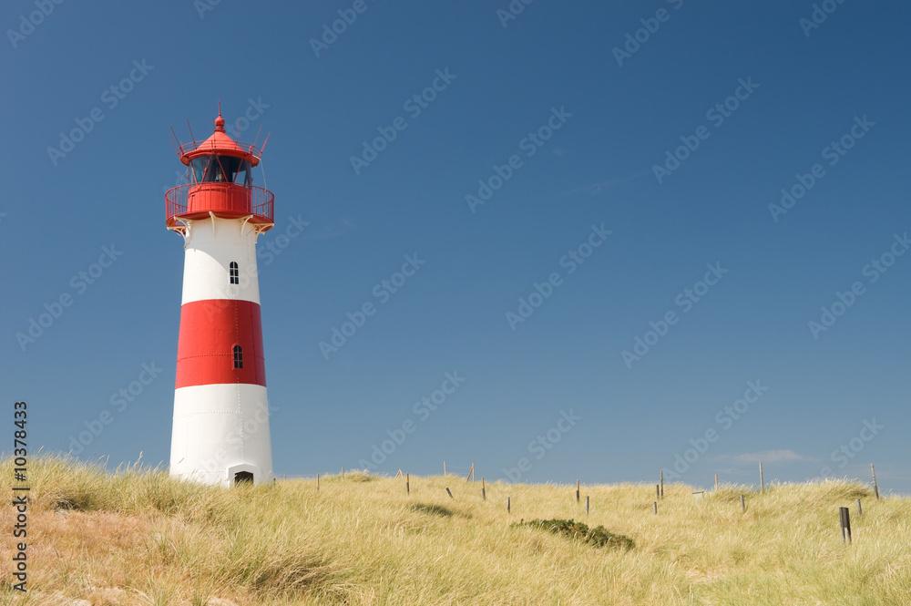 Foto-Lamellen (Lamellen ohne Schiene) - Small lighthouse on the island sylt, germany
