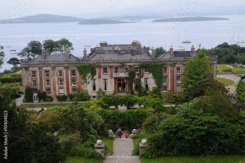 Irland, Co Kerry, Bantry, Bantry House Canvas Print