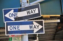 ONE WAY <-> ONE WAY