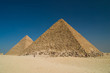 Pyramid of Khufu and Pyramid of Khafre