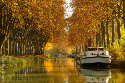 Canal du Midi Fototapete