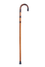 Wooden Cane Isolated On White ...