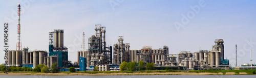 Foto op Plexiglas Antwerpen Refinery complex in Antwerp, Belgium