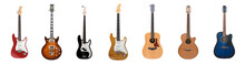 Seven Different Guitars For Th...